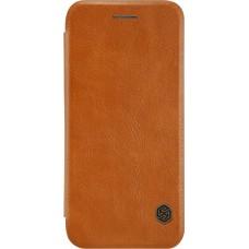 Чехол Nillkin Qin для iPhone 7/8 (коричневый)