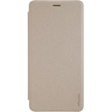 Чехол Nillkin Sparkle для Asus Zenfone 3 Ultra (золотистый)