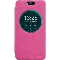Чехол Nillkin Sparkle для Asus Zenfone Selfie (розовый)