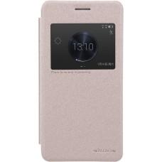 Чехол Nillkin Sparkle для Huawei Honor 6 Plus (золотистый)