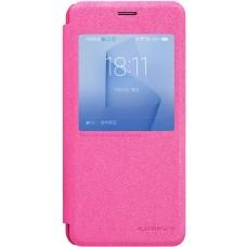 Чехол Nillkin Sparkle для Huawei Honor 8 (розовый)