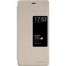 Чехол Nillkin Sparkle для Huawei P9 (золотистый)