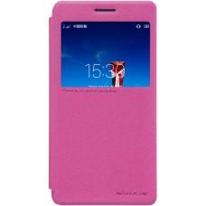 Чехол Nillkin Sparkle для Lenovo Vibe P1M розовый