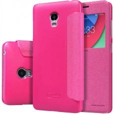 Чехол Nillkin Sparkle для Lenovo Vibe P1 розовый