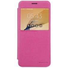 Чехол Nillkin Sparkle для Samsung Galaxy J5 Prime (розовый)