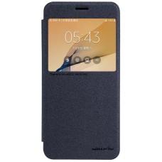 Чехол Nillkin Sparkle для Samsung Galaxy J7 Prime (черный)