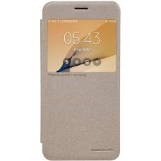 Чехол Nillkin Sparkle для Samsung Galaxy J7 Prime (золотой)