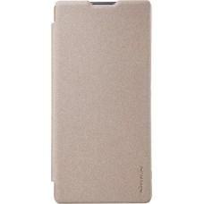 Чехол Nillkin Sparkle для Sony Xperia XA Ultra (золотистый)