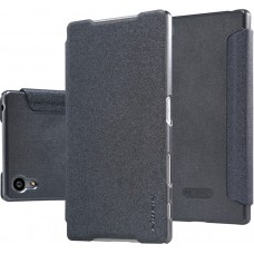 Чехол Nillkin Sparkle для Sony Xperia Z5 черный