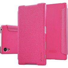 Чехол Nillkin Sparkle для Sony Xperia Z5 розовый