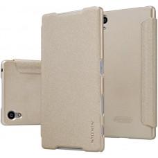 Чехол Nillkin Sparkle для Sony Xperia Z5 золотистый