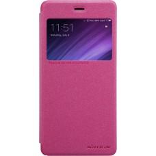 Чехол Nillkin Sparkle для Xiaomi Redmi 4 (розовый)