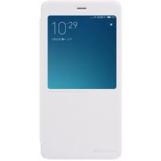 Чехол Nillkin Sparkle для Xiaomi Redmi Note 4 (белый)