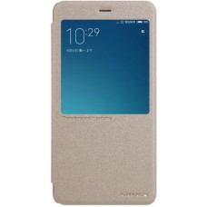 Чехол Nillkin Sparkle для Xiaomi Redmi Note 4 (золотой)
