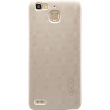 Чехол Nillkin Super Frosted Shield для Huawei GR5/Honor 5X (золотистый)