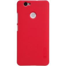 Чехол Nillkin Super Frosted Shield для Huawei Nova (красный)