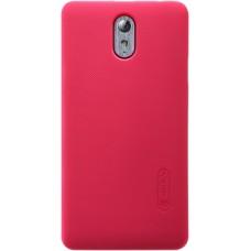Чехол Nillkin Super Frosted Shield для Lenovo Vibe P1M красный