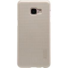 Чехол Nillkin Super Frosted Shield для Samsung Galaxy C5 (золотистый)
