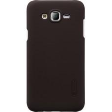 Чехол Nillkin Super Frosted Shield для Samsung Galaxy J5 2016 (коричневый)