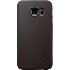 Чехол Nillkin Super Frosted Shield для Samsung Galaxy S7 (коричневый)
