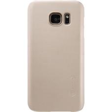 Чехол Nillkin Super Frosted Shield для Samsung Galaxy S7 (золотистый)