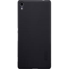 Чехол Nillkin Super Frosted Shield для Sony Xperia XA Ultra (черный)