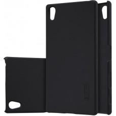 Чехол Nillkin Super Frosted Shield для Sony Xperia Z5 Premium черный