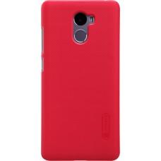 Чехол Nillkin Super Frosted Shield для Xiaomi Redmi 4 (красный)