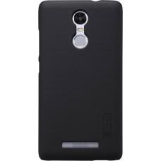 Чехол Nillkin Super Frosted Shield для Xiaomi Redmi Note 3 черный