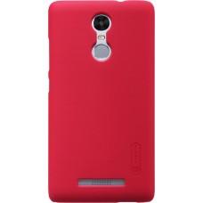 Чехол Nillkin Super Frosted Shield для Xiaomi Redmi Note 3 красный