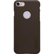 Чехол Nillkin Super Frosted Shield для iPhone 7/8 (коричневый)