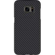 Чехол Nillkin Synthetic fiber для Samsung Galaxy S7 Edge (черный)