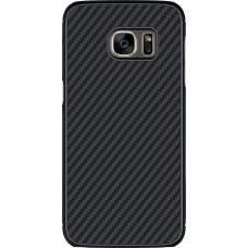 Чехол Nillkin Synthetic fiber для Samsung Galaxy S7 (черный)