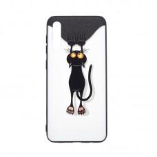 """Силиконовый чехол """"Florme Кот"""" для Samsung Galaxy A50 / A30s"""