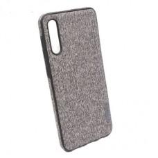 Чехол бампер Textile Experts для Samsung Galaxy A50 серый