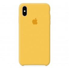 Чехол бампер Silicone Case для iPhone XR (Lemonade)
