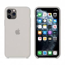 Чехол Silicone Case для iPhone 11 (Stone)