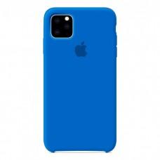Чехол Silicone Case для iPhone 11 (Royal blue)