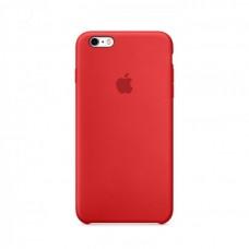 Бампер Silicone Case для iPhone 6 / 6s Plus, красный