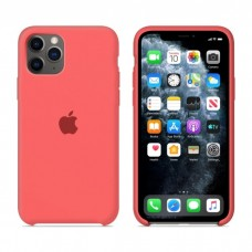 Чехол Silicone Case для iPhone 11 (Ultra Peach)