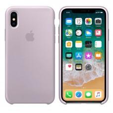 Чехол бампер Silicone Case для iPhone XR (Lanvender)