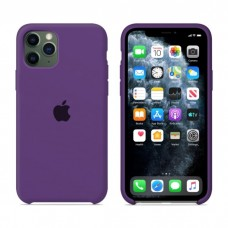 Чехол Silicone Case для iPhone 11 (Purple)