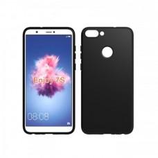 Силиконовый чехол EXPERTS для Huawei P Smart / Enjoy 7S, черный