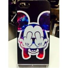 "Чехол накладка ""Микки"" для телефона iPhone 5/5S"