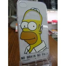 "Чехол накладка ""Гомер Симпсон"" для телефона iPhone 4/4S"