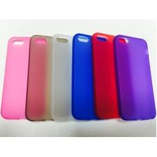 Силиконовый чехол накладка для телефона iPhone 5/5S