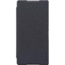 Чехол Nillkin Sparkle New для Sony Xperia C5 Ultra черный