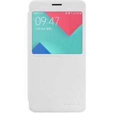 Чехол Nillkin Sparkle для Samsung Galaxy A7 (2016) белый