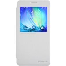 Чехол Nillkin Sparkle для Samsung Galaxy A7 (белый)