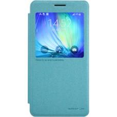 Чехол Nillkin Sparkle для Samsung Galaxy A7 (голубой)